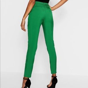 NEW Boohoo Green Trousers